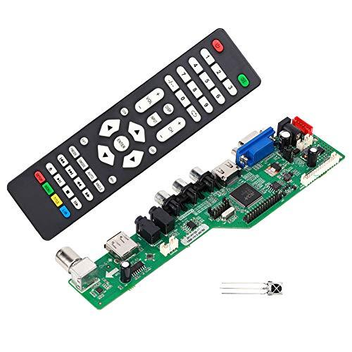 LCD-Controller-Karte, einfach zu verwendender Audio-Monitor-Treiber-Controller, schnelle Wartung und schnelle Installation für 1920 x 1080 High Screen 7-55-Zoll-Lvds-Bildschirm