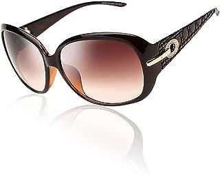 Women's Shades Classic Oversized Polarized Night Vision Sunglasses 100% UV Protection 6214