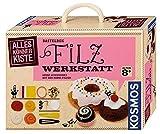 KOSMOS AllesKönnerKiste Filz-Werkstatt für Anfänger – DIY-Bastelset für kreative Mädchen und Jungen ab 8 Jahren