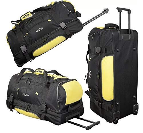 Bolsa con ruedas, 76 cm, 2,6 kg, capacidad: 95 litros