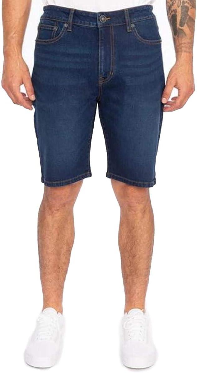 RING OF FIRE Men's 5 Pockets Denim Shorts