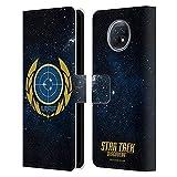 Head Case Designs sous Licence Officielle Star Trek Discovery United Federation of Planets Insignes Coque en Cuir à Portefeuille Compatible avec Xiaomi Redmi Note 9T 5G