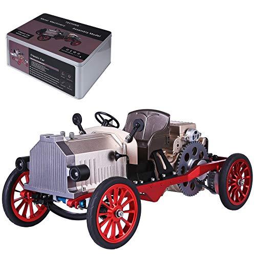 DAN DISCOUNTS Motor Stirlingmotor de un cilindro Stirling, modelo de motor con aplicación de mando a distancia, juguete educativo para adultos y niños