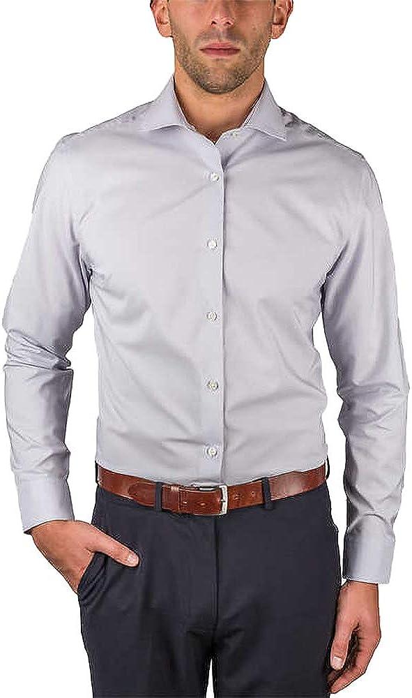 Perry Ellis Men's Travel Luxe Non Iron Tech Shirt