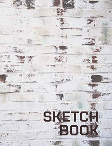 Sketchbook: Brick and block wall art Journal & Notebook for Drawing, Writing, Painting, Sketching or Doodling, 120 Blank Pages, White paper, 8.5x11 inch (BBW No.2) (Brick and block wall (BBW))