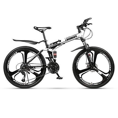 AMAIRS Vélo De Montagne Pliant, Moyeu Intégré À Trois Couteaux De 26\