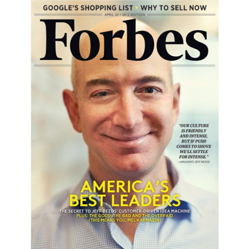 Forbes, April 9, 2012 audiobook cover art