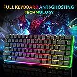 Zoom IMG-2 tastiera meccanica gaming rgb colorati