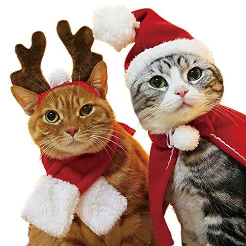 Pet Supplies Hund Katze Weihnachten Hut Um Weihnachten Kleidung Accessoires, Größe: L Huangchuxin