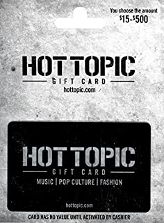 hot topic e gift card