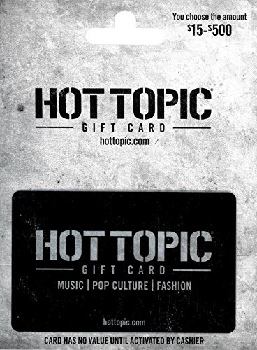 Hot Topic Card