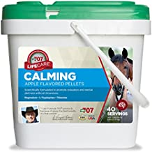 Formula 707 Calming Equine Supplement 5LB Bucket – Anxiety Relief and Enhanced Focus for Horses – L-Tryptophan, Thiamine & Magnesium