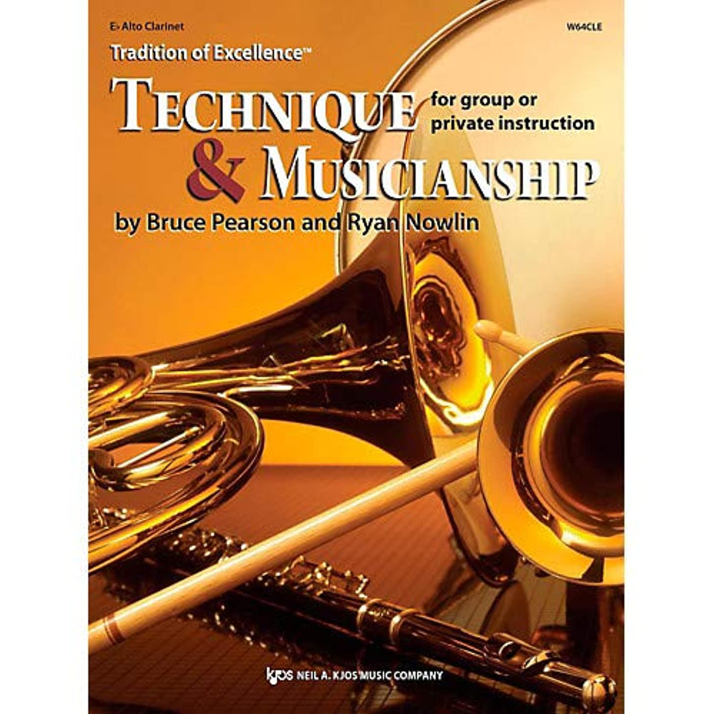 Tradition of Excellence: Technique Musicianship Alto Clarinet Pack of 3