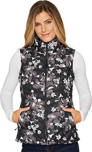 The North Face Women's Thermoball Vest - Black Late Bloomer Print - XS (Past Season)