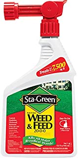 Sta-Green Ready-to-Spray Weed and Feed 32-fl oz 7500-sq ft 20-0-0 Lawn Fertilizer