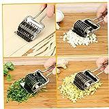 Dorime Coltello in Acciaio Inox smerigliatrice annuendo Cipolla e l'aglio e prezzemolo tritato Cucina Utensili Accessori per la Cucina