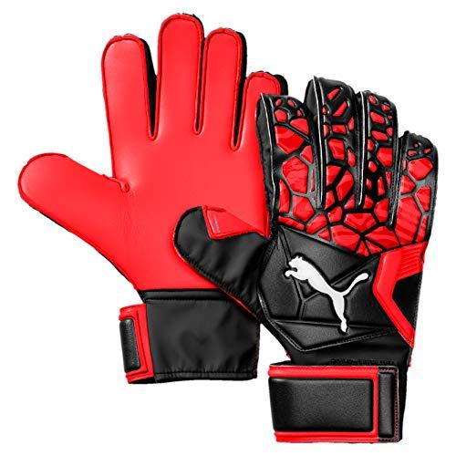 PUMA Torwarthandschuhe Future Grip 19.4, Red Blast-Puma Black-Puma White, 8, 41514