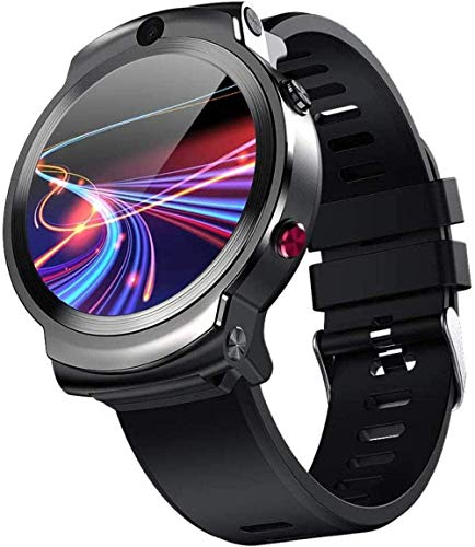 4G reloj inteligente deportes WiFi GPS BT Smartwatch 1.6 pulgadas pantalla táctil fitness Android 7.1 3 GB/32 GB reproductor de música llamada teléfono dual cámara soporte nano tarjeta SIM