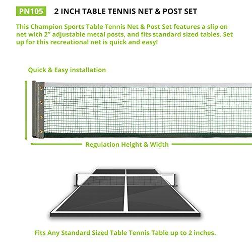 Champion Sports de Tennis de Table...