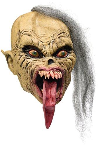 Masque Monstre avec Langue en Latex Halloween Costumes Carnaval Party