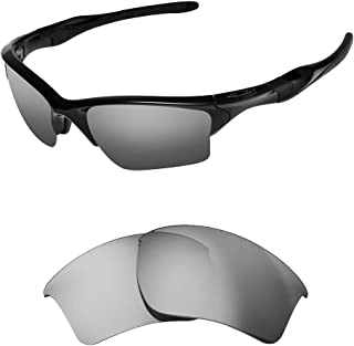 Polarized Replacement Lenses for Oakley Half jacket 2.0 XL Sunglasses-Multi Options with Lens Cloth