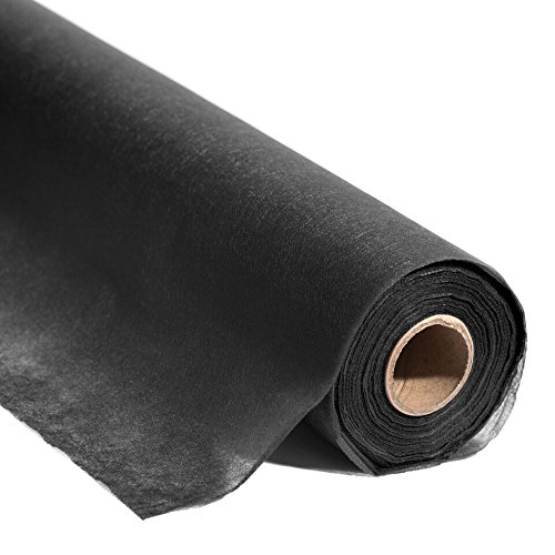 Anderson's Black Flame Retardant Gossamer Fabric, 59 Inches x 100 Yard