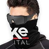 ShiHaiYunBai Tour de Cou Cagoule Microfibre Chapeaux Tube Masque Visage, Axe Capital Logo Soft Neck Warmer Gaiter Face Protective Scarf Balaclavas Unisex