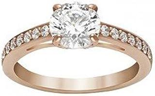 施华洛世奇女式戒指玻璃透明–51_ 戒指