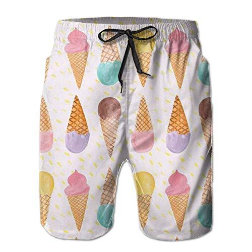 Herren Badehose EIS Quick Dry Board Shorts Badeanzüge Badebekleidung Volley Beach TrunksXXL