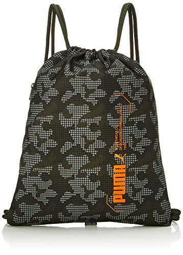 PUMA Style Gym Sack Mochila con Cordones, Unisex Adulto, marrón, Talla Única