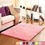 Muutos Carpet 70x160cm, Wohnzimmer Carpet, Robust Qualität, Strapazierfähig, für Wohnzimmer, Schlafzimmmer, Kinderzimmer, Esszimme - Pink