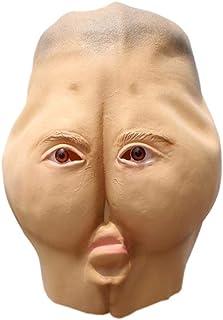 IGZAKER Scary Mask Party Funny Practical Joke Prop Trick Disfraz Máscara para el Día de Todos los Santos Cosplay Haunted House Halloween