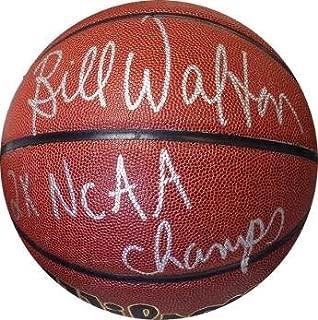 Bill Walton Signed Basketball - NCAA Wilson Indoor Outdoor 2X NCAA Champs UCLA Bruins) - Autographed College Basketballs
