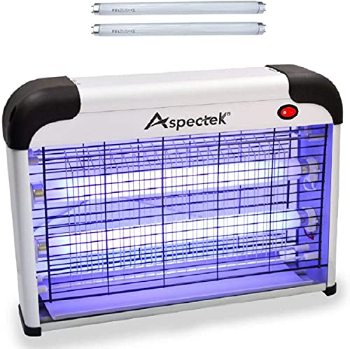 ASPECTEK Powerful 20W Electronic Insect Killer, Bug Zapper, Fly Zapper, Mosquito Killer-Indoor Use...