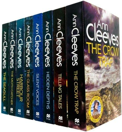 Ann Cleeves TV Vera Stanhope Series Collection 8 Books Set Telling Tales Harbour Street Silent product image