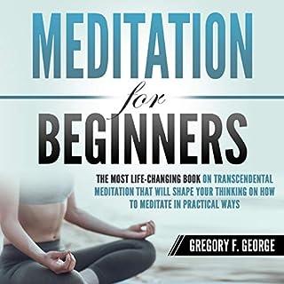 Meditation for Beginners audiobook cover art