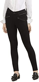 Women's Jess Moto Skinny in Black