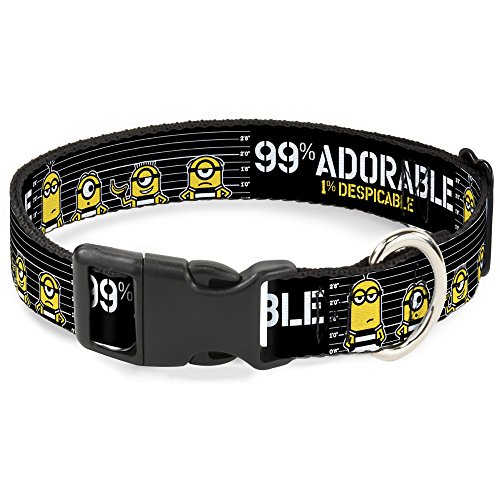 Cat Collar Breakaway Despicable Me Jail Break Minions 99 Adorable 1 Despicable 8 to 12 Inches 0.5 Inch Wide