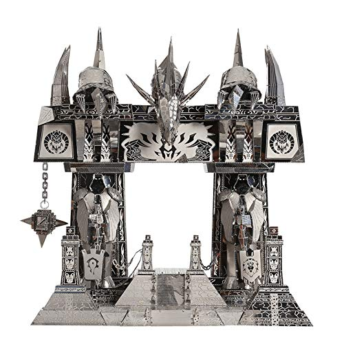 3D Metal Puzzle, Kingdom World Of Warcraft The Dark Portal Model Kits DIY 3D Laser Cut Jigsaw Toy, for Adults and Kids Age 14+, 221pcs