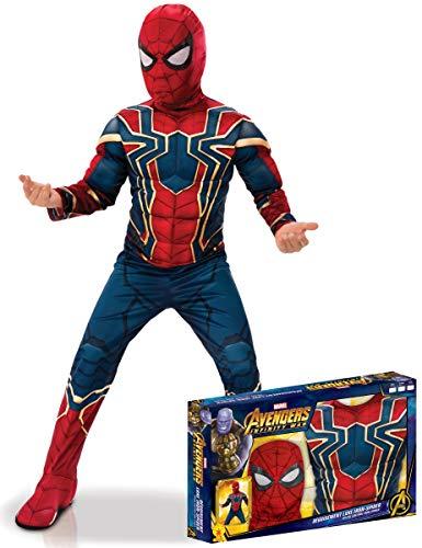 Rubie's France Coffret Luxe Iron Spider Infinity War garçon - 3 à 4 Ans (90 à 104 cm)