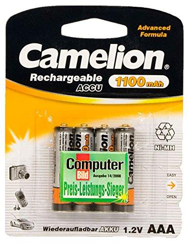 4X Camelion AAA Akkus 1100mAh für Telefon Siemens Gigaset S810 S810A S810H SX810 A400a Duo SX455 S45 S670 S675 SX670 SX675 S455 S645 SX450