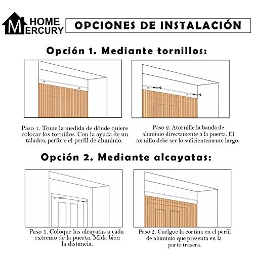 HOME MERCURY Contrapuertas con mosquitera