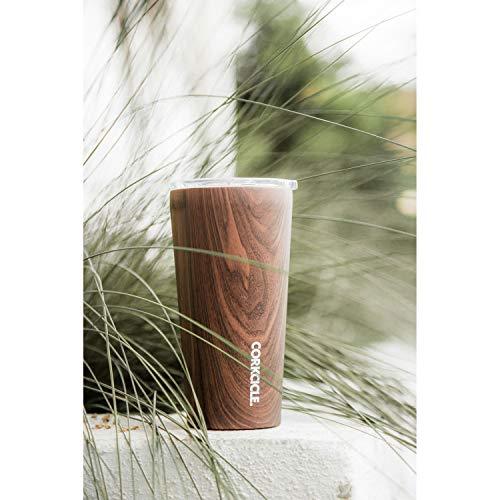SPICEOFLIFE(スパイス)ステンレスタンブラーふた付きTUMBLERCORKCICLEORIGINSウォールナット470ml16oz保冷保温真空断熱2116PWW