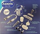 NinetyOne Addis Multi Functional 10-in-1 Handheld Steam Cleaner Steamer Garments Car Van Bathroom
