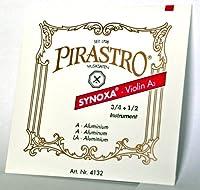 PIRASTRO/ピラストロ SYNOXA/シノクサ バイオリン弦(3/4 + 1/2用) D 4133 ナイロン/アルミ巻×1本