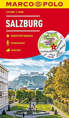 MARCO POLO Cityplan Salzburg 1:12 000 (MARCO POLO Citypläne)