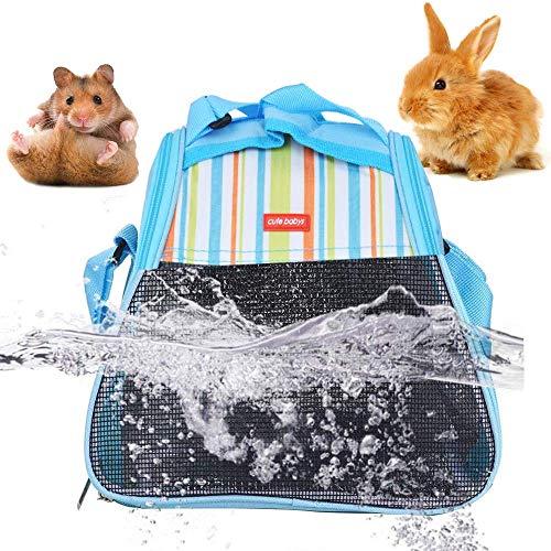 GZGZADMC Hamster-Tragetasche für kleine Tiere, Igel, tragbare Reisetasche, Haustier-Tragetasche, tragbare Reißverschluss-Eingang, atmungsaktive Reisetasche, warmes Haustier-Versteck für kleine Tiere