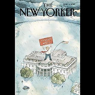 The New Yorker, March 4th 2019 (Steve Coll, Sam Knight, Jill Lepore) Titelbild