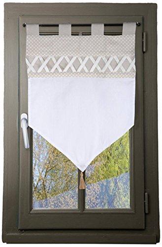 Lovely Casa Lin Nelia Brise BISE, Coton, 45x60 cm