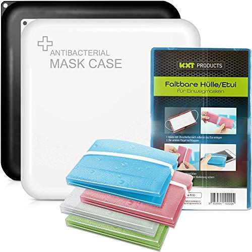 KXT Maskenbox SPARSET- zur hygienischen Aufbewahrung (BOX1 Doppelpack + 4 Etuis)